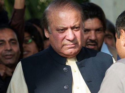 Contesting against 'outside beings', not PPP and PTI: Nawaz