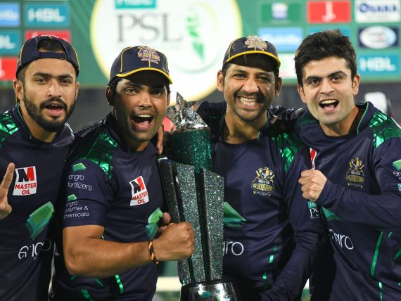 Hussnain, Shahzad lift Quetta Gladiators to maiden HBL PSL title