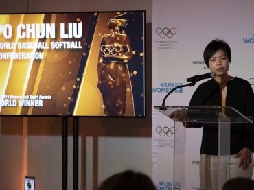 WBSC Baseball World Cup umpire Po Chun Liu earns IOC Women and Sport top award