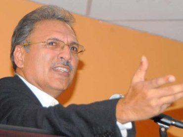 Pakistan will never leave Kashmir, says Dr Arif Alvi