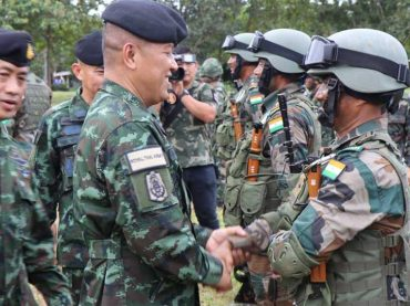 India, Thailand's joint military exercise kicks off today