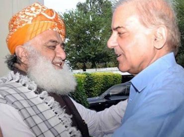 Fazl, Shehbaz to meet again on Oct 18 to formulate joint action against govt