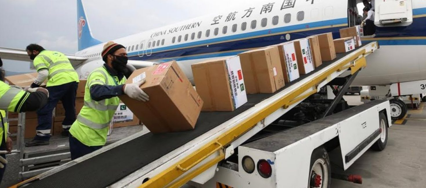 150,000 N-95 masks,150,000 protective goggles and 1.5 million surgical gowns arrives from China