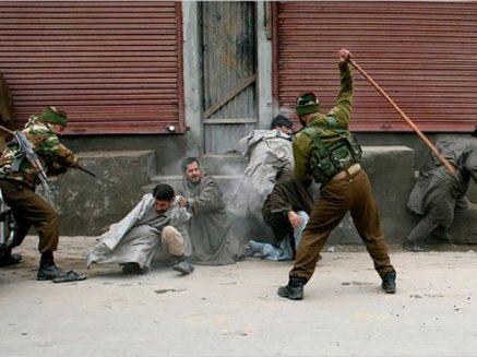 Thousands of Kashmiri widows mourn brutal killing of their husbands.