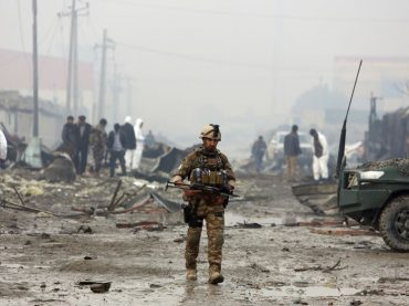 7 police officers killed in Afghanistan.