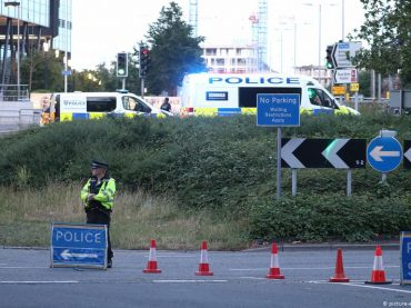 A terrorist stab to death three people in Forbury Garden,says British Thames valley police