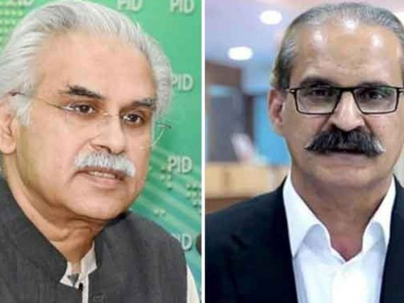 NAB clutches,Special Assistant to PM on Health  Dr Zafar Mirza, former health minister Amir Mehmood Kiyani