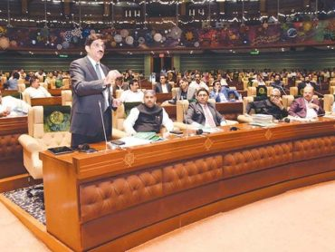 Rs1.24 trillion, Sindh govt budget presents.