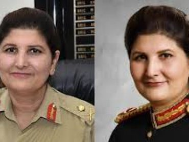Pakistan's first female officer to be promoted to the rank of lieutenant general