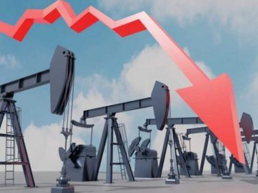 Oil prices down by stronger dollar & oversupply fears
