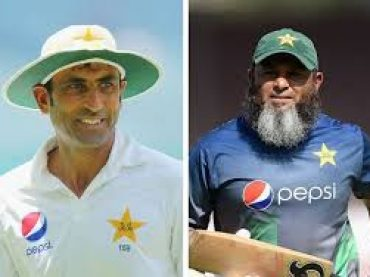 Younas and Mushtaq sever as bating & bowling coach, PCB