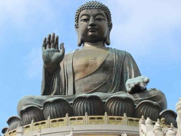 KPk Police arrested four men for shattering an ancient Buddha statue