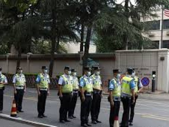 China has expressed strong dissatisfaction to US's forced entry into Chinese Consulate General in Houston,