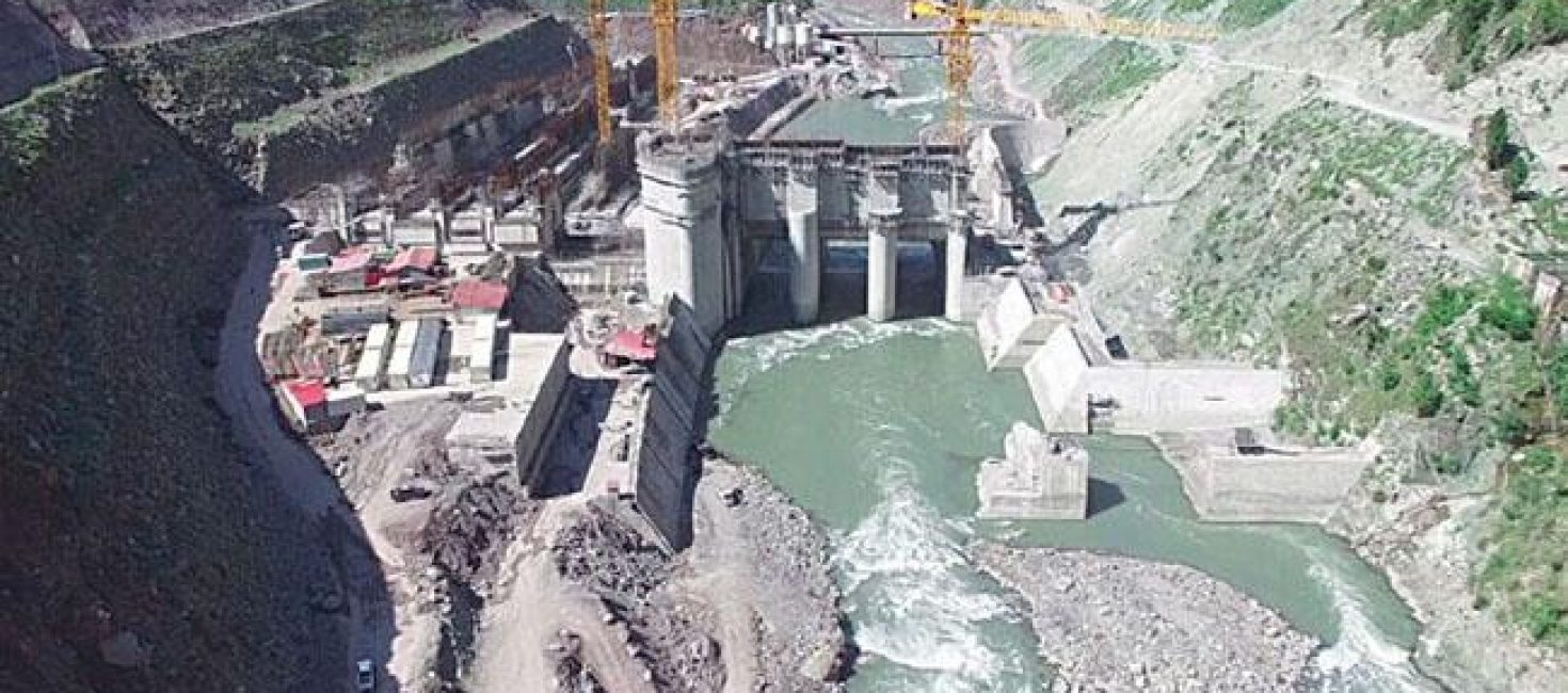Construction of Karot hydropower project  has entered in a key period.