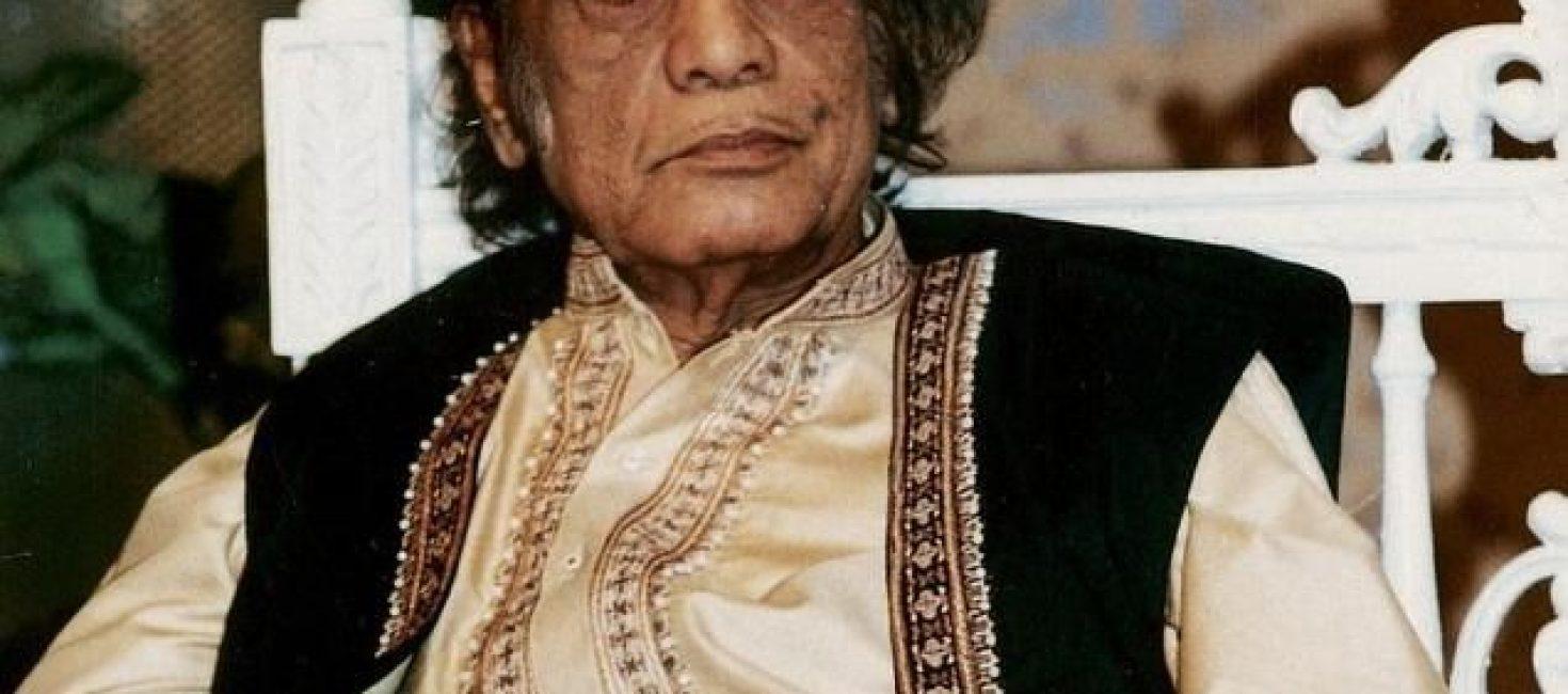 Pakistani Ghazal singer late Mehdi Hassan 93rd birthday being observed.