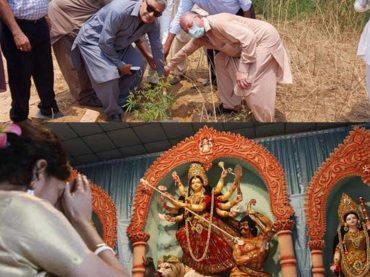 Pervaiz Elahi oppose construction of Shri Kirshna temple in Islamabad