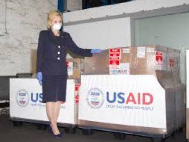 USA donate more 100 ventilaors to Pakistan
