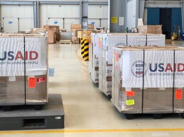 "USAID has donated 100 ""brand-new"" ventilators to Pakistan"
