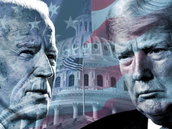US President Donald Trump losing his popularity against Democratic fighter Joe Biden.