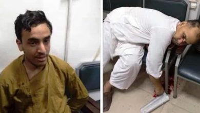 Killer of American citizen accused of blasphemy sent to prison on 14 days remand.
