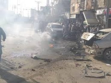 Chaman blast, 5 killed and 20 injured.