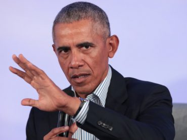 Former US President Barack Obama declared Donald Trump as threat to the country's democratic values .