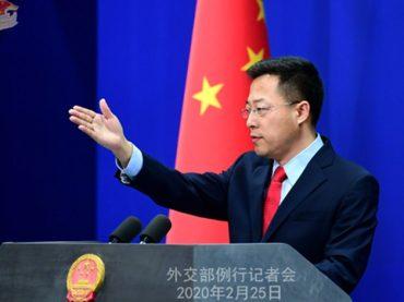 China strongly condemned Washington for using digital gunboat diplomacy.