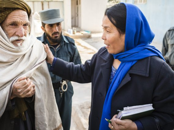 UN concern on killing of human rights defender in Afghanistan.
