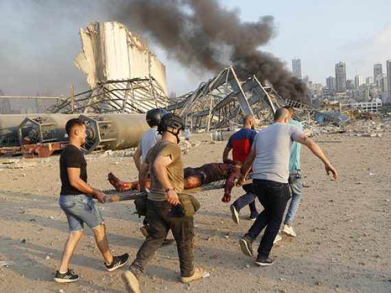 Beirut blast death tool reach up 108, Pakistan expressed solidarity with Lebanon.