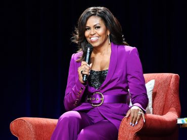 Michelle Obama urge Americans to elect Joe Biden to end the chaos created by Trump.