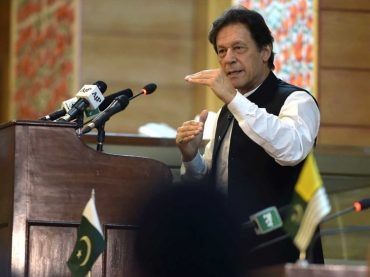 The World force India to reverse its present course against Kashmiri people,says Imran Khan