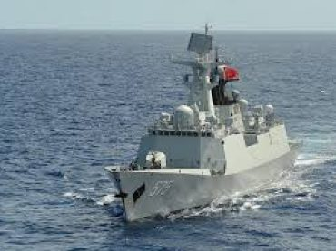 China handed over 1st ship of Type-054 Class Frigate to Pakistan Navy
