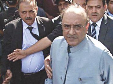 Asif Zardari indicted in Park Lane Reference