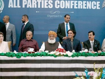 PPP hosted APC formulate Pakistan Democratic Movement against Imran govt.