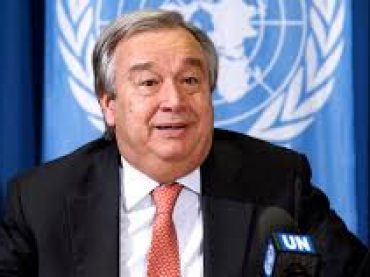 Through vaccine the pandemic of coronavirus  could not be controlled. says Antonio Guterres