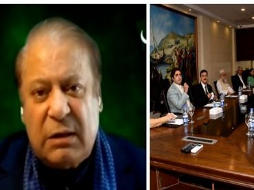 Opposition's struggle was against those who brought Imran Khan into power, says Nawaz Sharif