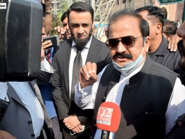 Incompetent ruling party destroys political morality of the country: Rana Sanaullah
