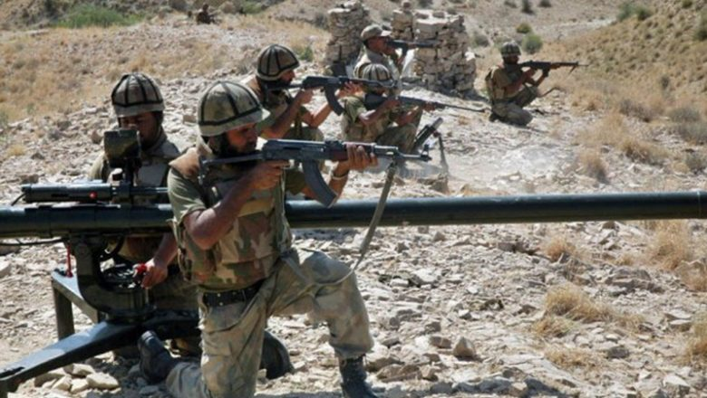 Two terrorists killed while Havildar Shehzad Razaa martyred during an operation in North Waziristan