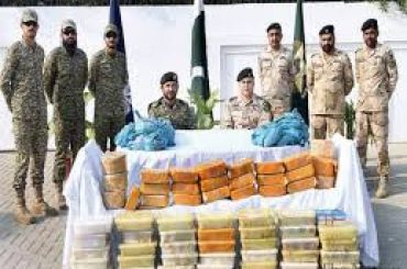 ANF Pakistan seize 794.836 kgs narcotics valuing US $ 47.763 million