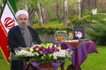 Hassan Rouhani has sent greetings to President Dr Arif Alvi on the advent of Nowruz