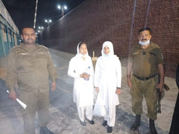 Police register a case against two nurses on the charge of committing blasphemy